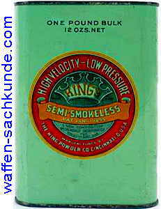 King Powder Company - King's Semismokeless - waffen-sachkunde.com